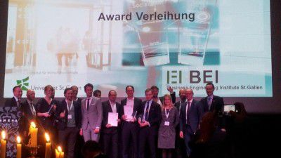 Fintechs kommen: Die Sieger des Banking IT-Innovation Award 2015 - Foto: Business Engineering Institute St. Gallen