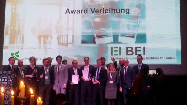 Die Sieger des Banking IT-Innovation Award 2015