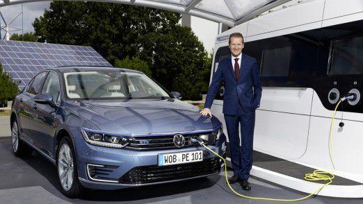 VW-Markenchef Herbert Diess wird CEO des Volkswagen-Konzerns.