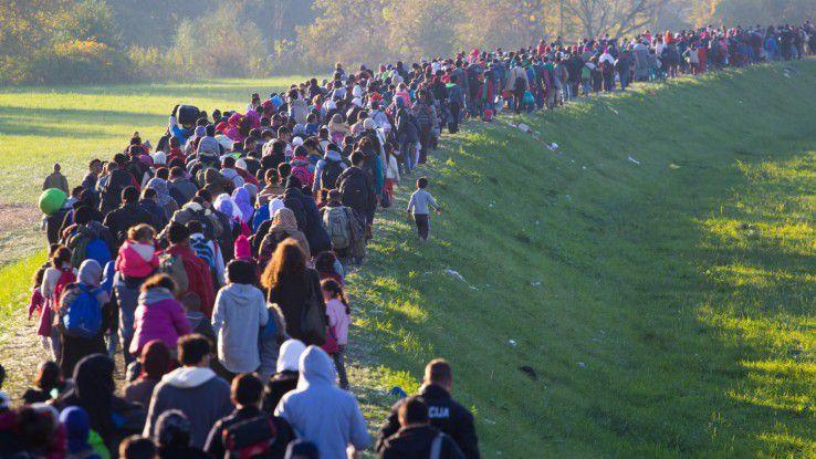 Flüchtlinge als Hoffnungsträger gegen den Fachkräftemangel in der IT - bisher eine These mit vielen Unbekannten.