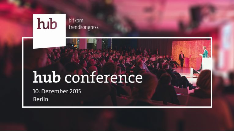 Die hub conference findet am 10. Dezember in Berlin statt.