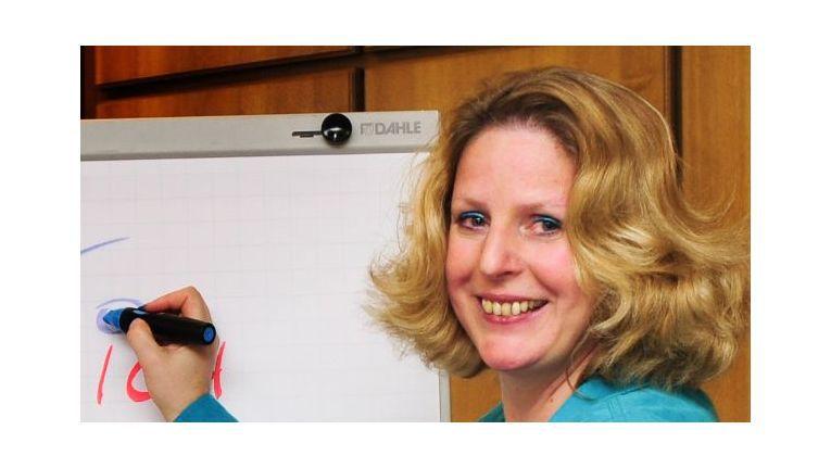 Claudia Kimich coacht Führungskräfte.
