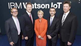 Parkstadt Schwabing in München: IBM eröffnet Zentrale für Supercomputer Watson - Foto: IBM
