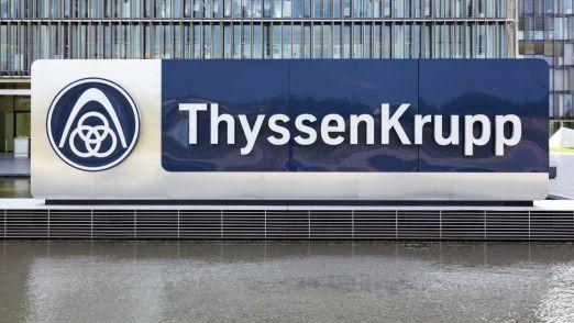 ThyssenKrupp muss die Kosten weiter reduzieren.