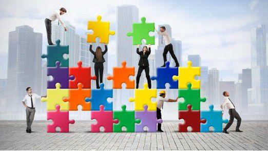 In Sachen Collaboration passen noch nicht alle Puzzle-Teile zusammen.