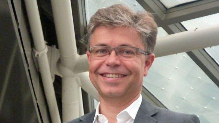 Karsten Rech ist CIO bei der Vonovia. Der Wohnungskonzern ist neues Mitglied im DAX.