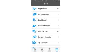 iPhone-Apps für Messetrips