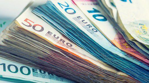 Diskutiert wird eine Bargeld-Obergrenze von 5000 Euro.