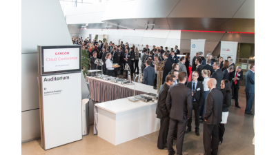 Anzeige: Impressionen von der CANCOM Cloud Conference 2015 - Foto: CANCOM