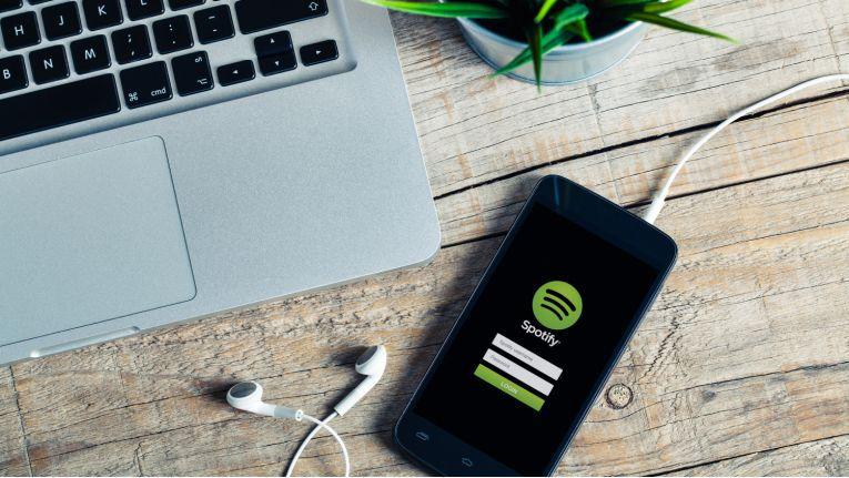 Musik-Streaming via Spotify