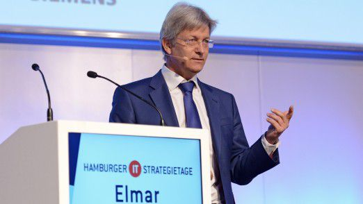 Elmar Frickenstein, SVP for Electrics, Electronics and Driver Environment der BMW Group, sprach auf den Hamburger IT-Strategietagen über die neue Ära der Automobilindustrie.