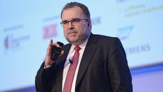 Siegfried Russwurm, Mitglied des Vorstands der Siemens AG, sprach dieses Jahr vor CIOs auf den Hamburger IT-Strategietagen.