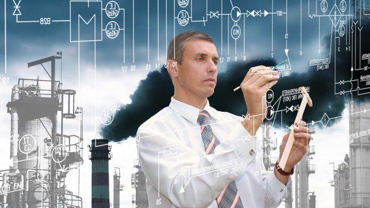 Industrie 4.0 - Internet, Cloud-Strukturen und cyber-physische Systeme prägen das industrielle Umfeld.