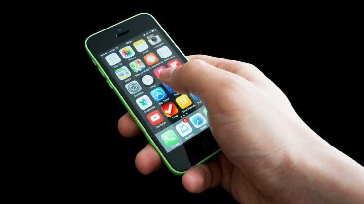 Seltene Kombination: Der Hack funktioniert nur auf einem Apple iPhone 5c mit iOS 9.