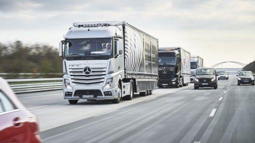 Lkw von Mercedes-Benz verkaufen sich außerhalb von Europa schlechter als von Daimler prognostiziert.