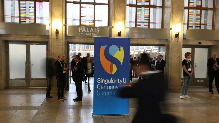 Der erste Kongress der Singularity-University-Vordenker in Deutschland fand in Berlin statt