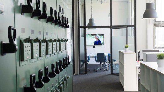 Räume, die nach Arbeit riechen: Eröffnung der Digitaleinheit Schacht One.