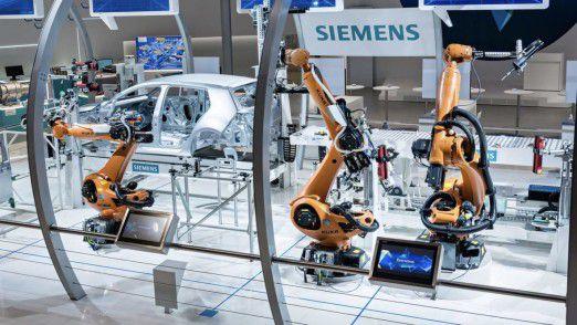Digitalisierung bei Siemens.