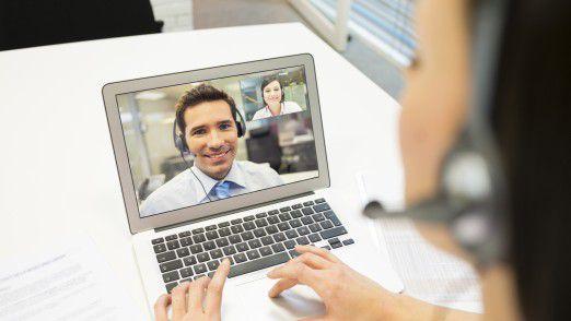 Jüngere telefonieren öfter via Web als Ältere.