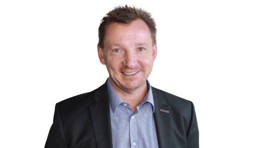 Andreas Strausfeld, CIO von BITMARCK, stieß bei den Mitarbeitern anfangs auf wenig Begeisterung.