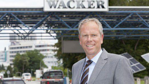 Dirk Ramhorst ist CIO bei Wacker Chemie.