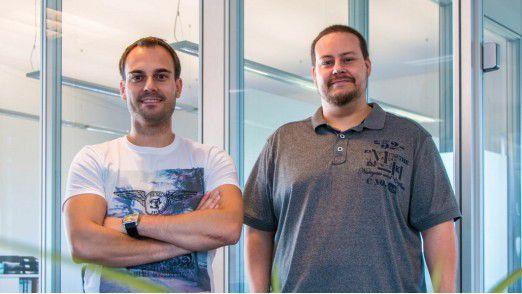 Daniel Marx (links), Co-CEO von Uniq, hat seinen früheren Chef Matthias Meyer eingestellt.