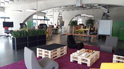 Blick in das Porsche Digital Lab in Berlin.