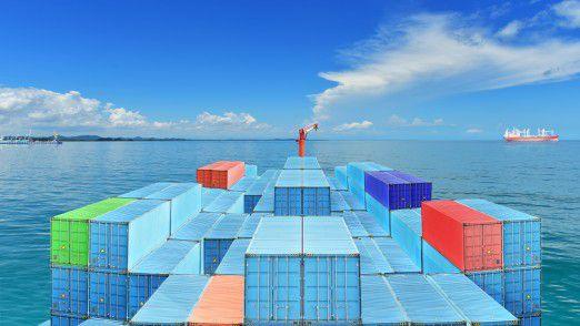Die Schifffahrt leidet im Moment an Überkapazitäten.