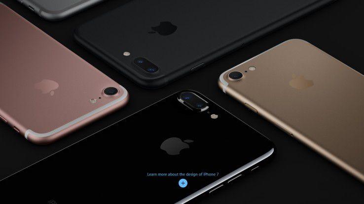 Das Apple iPhone 7 Plus ist derzeit wohl das schnellste und leistungsfähigste Smartphone im Markt.