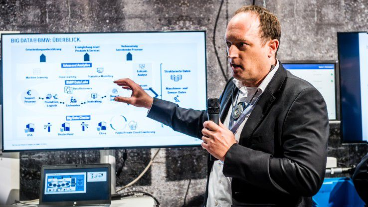 Kai Demtröder, Leiter Big Data und Advanced Analytics bei BMW