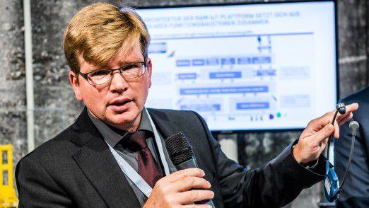 Sascha Molterer, in der BMW Group für das Industrie-4.0-IT-Enabling verantwortlich