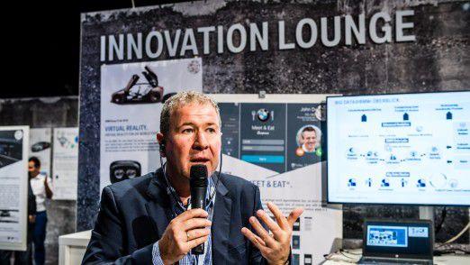 Unter den Top-Referenten: BMW CIO Klaus Straub