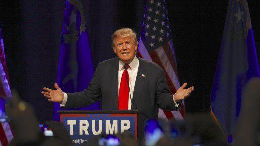 Donald Trump ist der designierte 45. Präsident der Vereinigten Staaten.
