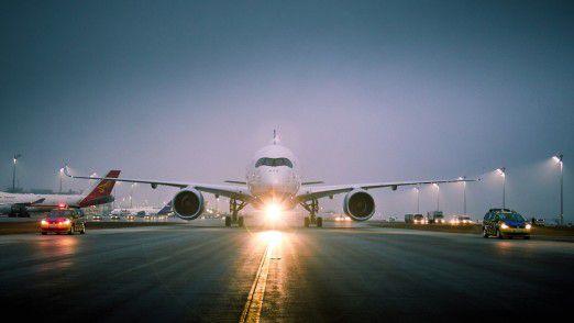 Digitalisierung über den Wolken: Die Lufthansa holt die digitale Welt in ihre Flugzeuge.