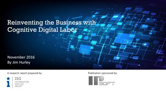 Reinventing the Business with Cognitive Digital Labour - Foto: ipsoft