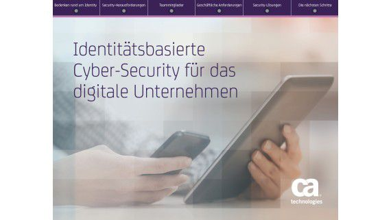 Identity-Centric Cybersecurity - Foto: CA
