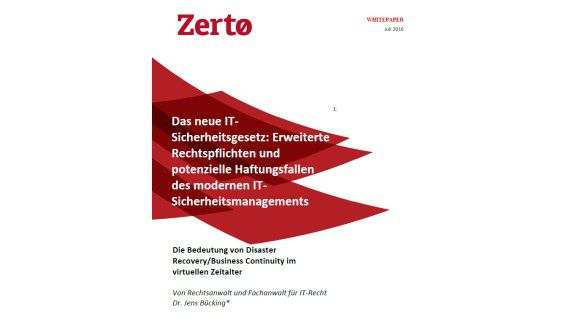 Disaster Recovery Guide - Foto: Zerto