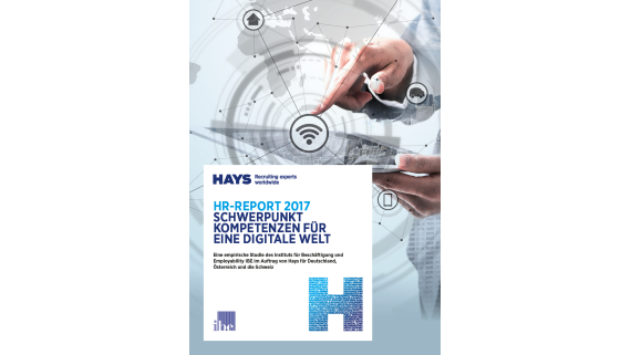 HR-Report 2017 - Foto: Hays