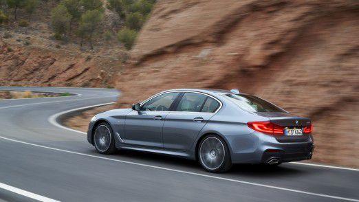 Wann zahlt sich ein Firmenwagen wie z.B. der BMW 5er aus? Wir geben Antworten.