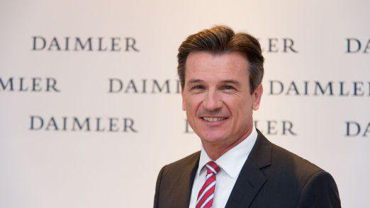Daimlers Lastwagen-Chef Wolfgang Bernhard muss den Konzern verlassen.