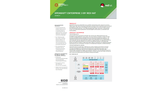 Openshift Enterprise 3 by Red Hat - Foto: Red Hat