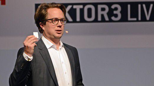 Kinexon-Industries-Geschäftsführer Nikolai von Loeper