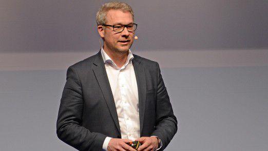 Matthias Spott, CEO der Kaskilo AG, sprach auf dem Hamburger IT-Strategietagen 2017.