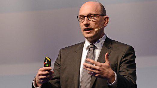 Miles & More CIO Ralf Gernhold sprach auf den Hamburger IT-Strategietagen 2017.