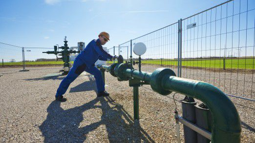 OMV-Gasanlage in Österreich