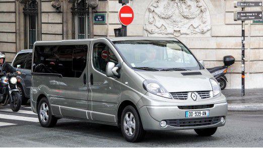 Das Renault-Werk in Sandouville - dort baut Renault unter anderem den Renault Trafic - war von der Cyber-Attacke betroffen.
