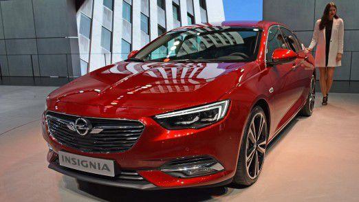 Auf Basis des neuen Opel Insignia plant Opel für 2019 ein Groß-SUV.