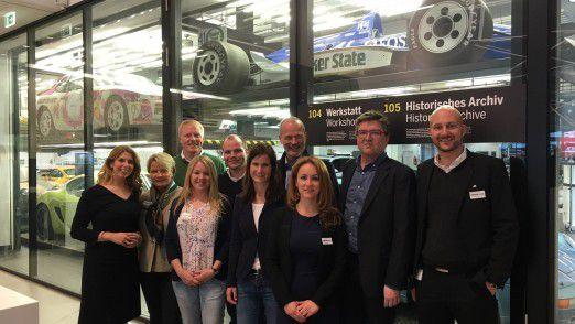 Erstes Stipendiaten-Treffen der CIO Stiftung im Porsche-Museum in Stuttgart.