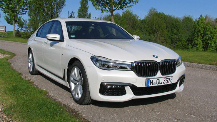 BMW 730d mit über 31500 Euro Sonderausstattung an Bord.