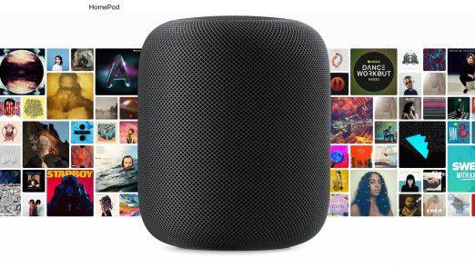 HomePod: Apple bringt einen vernetzten Lautsprecher auf den Markt.